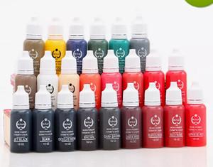 NEUE ANKUNFT 5 Teile / los Permanent Tattoo Ink Micro Pigment Farbe 1 / 2OZ (15ml) Tattoo-Tinten für Tattoo KOSTENLOSER VERSAND