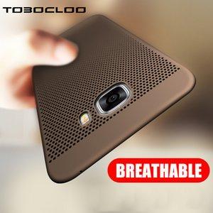 Dissipation de chaleur COOL PC Case Pour Samsung Galaxy S6 S7 bord S8 S9 Plus A3 A5 A7 2016 J3 J5 J7 2017 PRIME NOTE 8 A8 2018 Cas