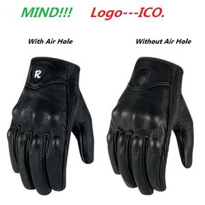 I-2-Styles-Lether Перчатки Moto Racing Перчатки Кожа мотоцикл перчатки велосипедные Перфорированные кожаные перчатки мотоцикла