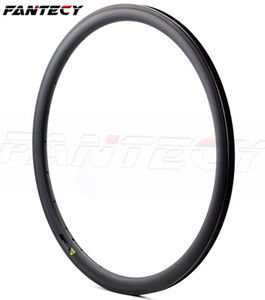 Бесплатная доставка Carbon Single Rim 700C 38 мм Глубина 25 мм Ширина Легкий вес Карбоновое колесо Клинкер / Трубчатый Дорожный Велосипед Обода 3 К / UD плетение