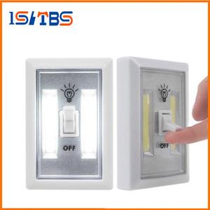 COB LED Commutateur d'éclairage sans fil sans fil sous l'armoire de cuisine Placard RV Night Light Applique murale d'intérieur Night Lights