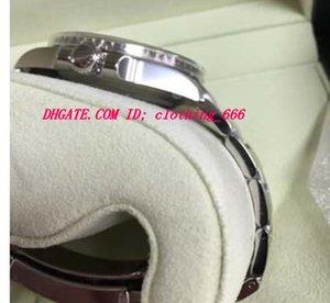Acero 40mm estilo de cerámica de lujo de lujo de lujo nuevo nuevo verde nuevo bisel pulsera relojes para hombres 116610 reloj de pulsera blanca automática AAHH