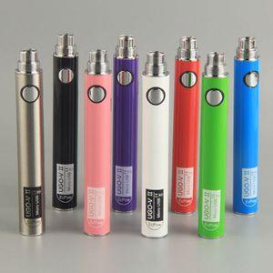 EcPow UGO-V II 510 Vape Battery E Cig Battery 650mah Passthrough Vaporizer Pen Battery Micro USB E Cigarettes Vape Batteries