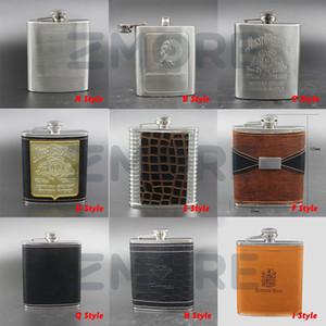 Cadeau En Acier Inoxydable Hip Flacon Flagon Haute Qualité Portable Vin Whisky Pot Bouteille Drinkware Pour Abreuvoir Flagon Entonnoir Coupe 1 Set