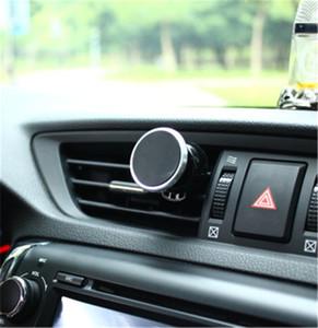 Soporte universal magnético fuerte del teléfono de la salida de ventilación del aire del coche rotación del soporte universal del teléfono de 360 grados con el paquete para el teléfono móvil