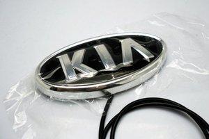 11.9 cm * 6.2cm LED Soul Light 4D Light K5 Emblems Emblem Emblem Forte Cerato Badge Sticker Kia Car For Logo Sorento QCWVG