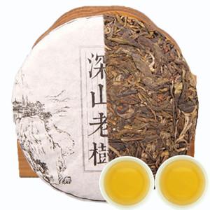 Promoción 100g crudo PU Er té de Yunnan Deep Mountain antiguo árbol del té de Pu'er Pu'er natural orgánico de té verde de la torta