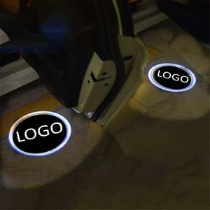 per Suzuki per Subaru 2PCS LED Car Door Luce di benvenuto Proiettore laser Logo Ombra Luce Auto-styling Car Interior Decoration Light