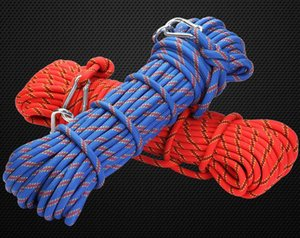 Xinda outdoor rescue rope mountaineering safety climbing rope insurance escape rope wild walking survival equipment HOT selling