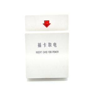 Otel beyaz kart güç anahtarı gecikme indüksiyon kartı elektrik almak için Otel tipi 86 güç anahtarı 30A