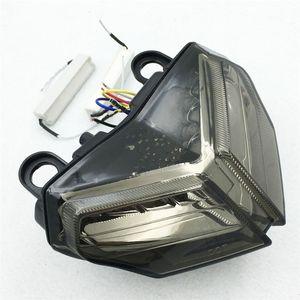 Fanale posteriore a LED per moto Smoke LED per Ducati 848 2008-2014 1098/1198 2007-2013