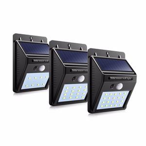 Su geçirmez Güneş şarj edilebilir LED Güneş ışığı Ampul Açık Bahçe lamba Dekorasyon PIR Hareket Sensörü Gece Güvenlik Duvarı ışık