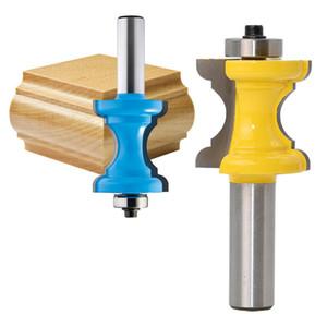 """DIY ferramentas para trabalhar madeira Bullnose com coluna Bead / Face Molding Router Bit - 1/2 """"Shank"""