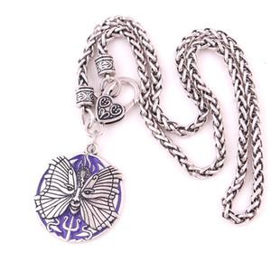 PSYCHE Déesse Pendentif SOUL Neptune Amulette Talisman Matterial En Alliage de Zinc Charme Pendentif Collier Service d'Assurance du Commerce