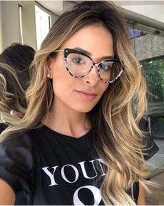 Cat Eye Brillen Rahmen Frauen Trending Styles Marke Brillen TR90 Optische Mode Computer Brille CY203