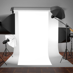 OOTDTY New WHITE Thin Vinyl Photography Backdrop Background Studio Photo Prop Durable 3x5ft
