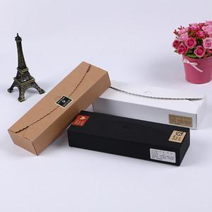 Десерт Macaron коробка черный коричневый белый цвет кондитерские изделия упаковка торт коробка шоколад маффин печенье коробка для печенья пакет