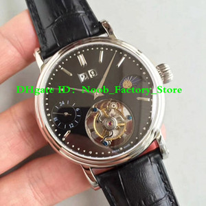 4 Models TOP FACTORY PP0248A Asia Manual Wind Flying Tourbillon MoonPhase Day Night RG LE White MoonPhase Style Tourbillon Fantasy Model