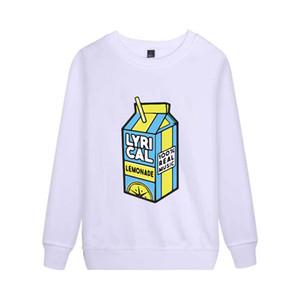 лирическая лимонад Sweatershirt Смешные Толстовка для мужчин / женщин музыки Sweatershirt Hoodie