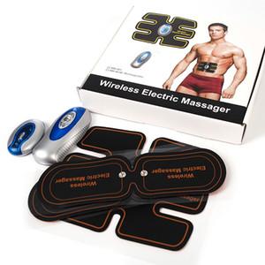 لاسلكية عضلات البطن المدرب الذكية EMS الكهربائية نبض مدلك TENS الكهربائي آلام الظهر الإغاثة ABS تحفيز تدليك نوعية جيدة