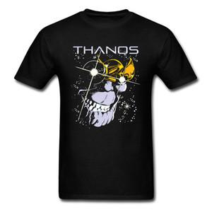 Stars of Thanos T-shirts Men T Shirt Fashionable Black Tshirt Summer Short Sleeve Tops Tees 100% Cotton Mens Geek Clothing