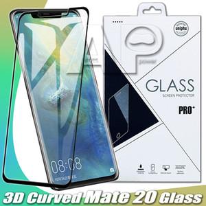 Изогнутые закаленное стекло для Samsung Note 10 S20 Plus Huawei P30 Mate 20 3010 P20 Pro Samsung S10 pixel3 XL LG G8 Sony