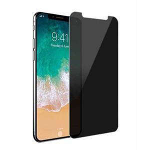 Privacidade de vidro temperado para iphone x xs xr max 8 8 7 6 6 s plus protetor de tela anti-espião 9 h dureza de vidro temperado para samsung s7 s6
