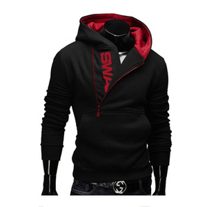 6XL 패션 브랜드 후드 남성 운동복 Tracksuit 남성 지퍼 후드 자켓 캐주얼 운동복 Moleton Masculino Assassins Creed