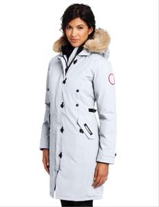 Piumino donna GOOSE Down Warm Outdoor Sports 90% bianco Donna Cappotto invernale da sci invernale da donna di alta qualità