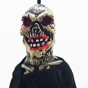 1pcs 유령 축제 KTV 바 창 2018 새로운 도착 뜨거운 할로윈 소품 종이 내구성 펜 던 트 태그