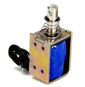 Mini struttura DC dell'elettromagnete 24V ZYE1-0837 push pull valvola elettromagnetica attraverso Tipo Tenere Elettromagnete Ascensore solenoide 24V 12V 9V 5V 6V