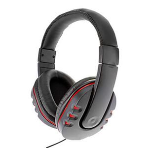 PS4 cuffie del microfono Controllo del volume cuffia delle cuffie stereo auricolare cablato Noise Cancelling auricolare con microfono