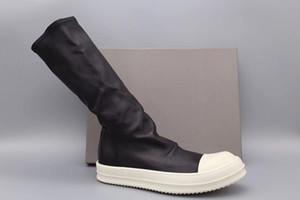 Factory Outlet Hauptlinie Mark Suture elastischen Schaffell Socke Stiefel Original TPU Sohle Top Mode Komfort Luxus aus echtem Leder Stiefel