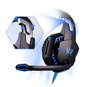 Top seller E-sport headphone Cool color with wheat heavy bass Surround stereo denoise HD Voice headsets specially designed for games