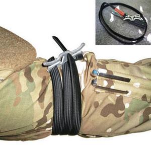 Gadget da esterno EDC Sport Laccio emostatico veloce di sicurezza Funzionamento con una sola mano Laccio emostatico ultraleggero Cinturino esterno Attrezzo di sopravvivenza