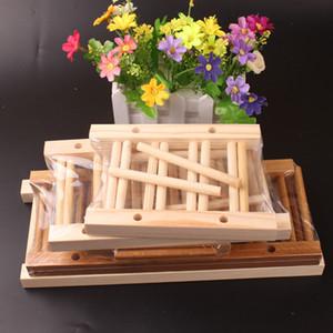 Alta qualità Legno 35 griglia Multifunzione drenante portabicchieri tazza piatto da cucina rack di stoccaggio scaffalature cremagliera piatti scolapiatti