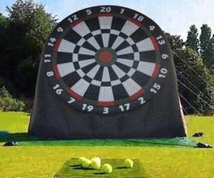 Satılık şişme ayak dart, şişme dart oyunu / şişme futbol dart oyunu