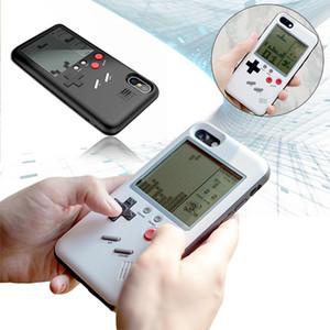 UYG Tetris Game Phone Cases para Iphone X TPU Case para Iphone 7 6 S 8 8 Plus cubierta de protección de consola de juegos casos