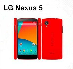 Acelerado Original LG Nexus 5 D820 D821 3g / 4g Gps Wifi Nfc Quad Core 2gb Ram 16gb Rom 4.95 '' Toque Teléfono móvil restaurado