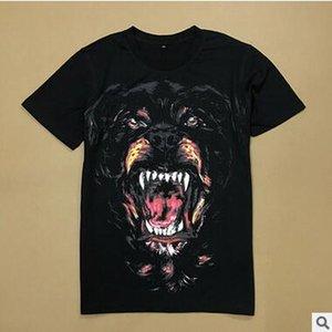 T-shirt di marca Tide nuova Tide Maglietta a maniche corte da uomo con collo tondo e stampa classica a maniche corte