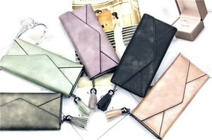 Fashion Wallet Women Daily Use Clutches New Leather Wallets Hasp Ladies Handbag Clutch Purse Bag three fold Casual Long