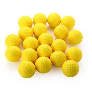 Dominant 20 adet Golf Eğitim PU Köpüklü Uygulama Topu Dayanıklı Yüksek-lift Aerodinamik Uygulama Golf Topu Için Trainning