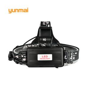 Yunmai 10000 Люмен Светодиодные Фары CREE XML T6 + COB USB Фара Фара головного света Рыбалка На Открытом Воздухе Кемпинг Езда Голова Фронтальный Факел