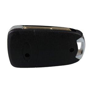3 pulsanti pieghevole sostituzione telecomando portachiavi a conchiglia coperchio a conchiglia Modifica vibrazione per auto Ford Focus Mondeo Switch blade