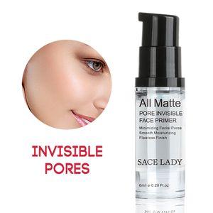 Os Recém-chegados Rosto Base Primer Maquiagem Líquido Fosco Maquiagem Linhas Finas Oil-control Facial Creme Ilumine Fundação Nude Cosméticos
