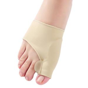 Jel Koruma Kol için Silikon Toes Ayırıcı Ayak Bunion Destek Pedikür Ortopedik Halluks Valgus Düzeltme LX3190