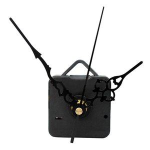 Quiet Silent Mode Quartz Wall Clock Movement Mechanism Black Hands DIY Repair Parts Kit Set Accessory