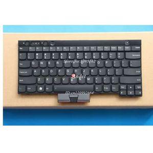 Neues Original für Lenovo ThinkPad X230 X230I T430I T430S T530 T530I W530 L430 L530 US Tastaturen Englisch KEIN Hintergrundbeleuchtung 04X3174