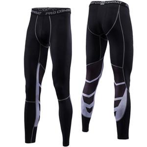 Hommes Courir Collants Pro Compress Yoga Pantalon GYM Exercice Fitness Leggings Entraînement Basketball Exercice Hommes Sports Vêtements