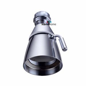 360 회전 2 기능 크롬 마무리 물 저장 강우량 샤워 헤드 라운드 샤워 헤드 바디 스프레이 어 제트 볼 커넥터